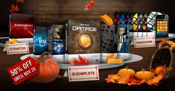Native Instruments Thanksgiving Special
