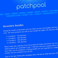 Patchpool Novembre Sale