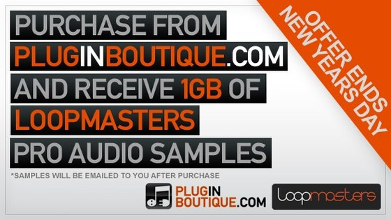 Plugin Boutique 1 GB Loopmasters samples