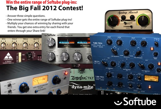 Softube Big Fall 2012 Contest