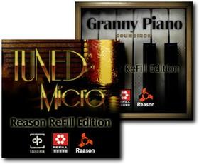 Soundiron Tuned Micro & Granny Piano ReFills