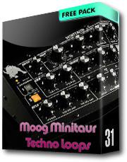 Moog Minitaur Techno Loops