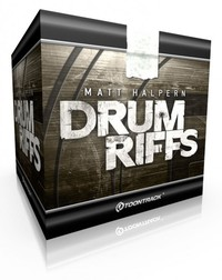 Toontrack Drum Riffs MIDI