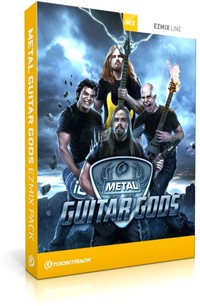 Toontrack Metal Guitar Gods EZmix Pack