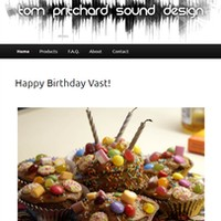 Tom Pritchard Sound Design Vast Birthday
