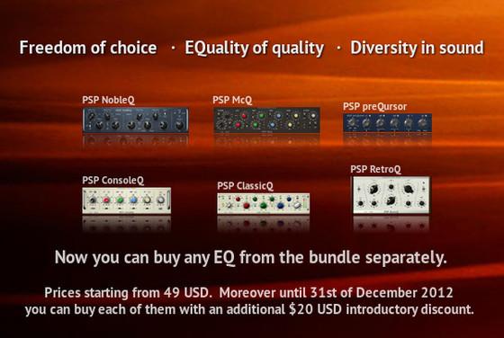 PSP sQuad EQs on sale