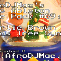 AfroDJMac Charlie Brown X-Mas Tree Synths