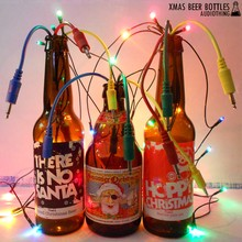 AudioThing Xmas Beer Bottles