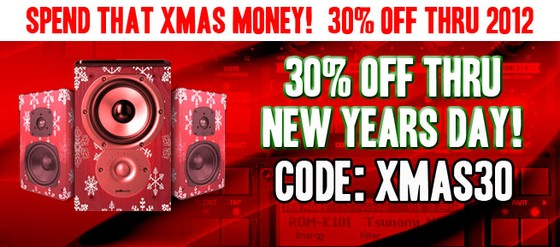 P5Audio Xmas Sale