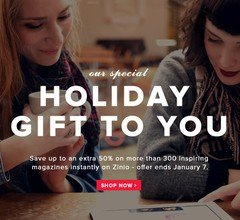 Zinio Holiday Sale