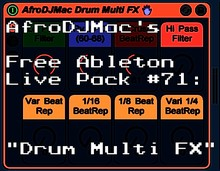 AfroDJMac Drum Multi FX