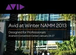 Avid NAMM 2013