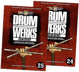 Beta Monkey Music Drum Werks XXIV Slow &amp; Uptempo 6/8