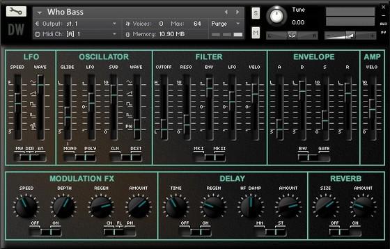 Hideaway Studio Zero-1 Synthesizer