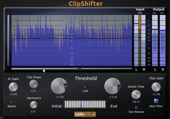 LVC-Audio ClipShifter