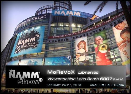 Morevox at NAMM 2013