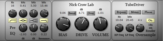 Nick Crow TubeDriver
