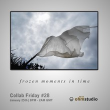 Ohm Studio Friday Collab Frozen moments in time