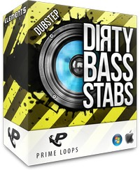 Prime Loops Dirty Bass Stabs Dubstep