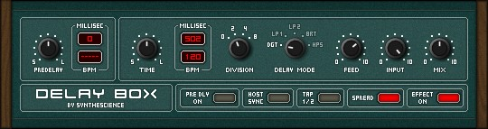 Synthescience Delay Box