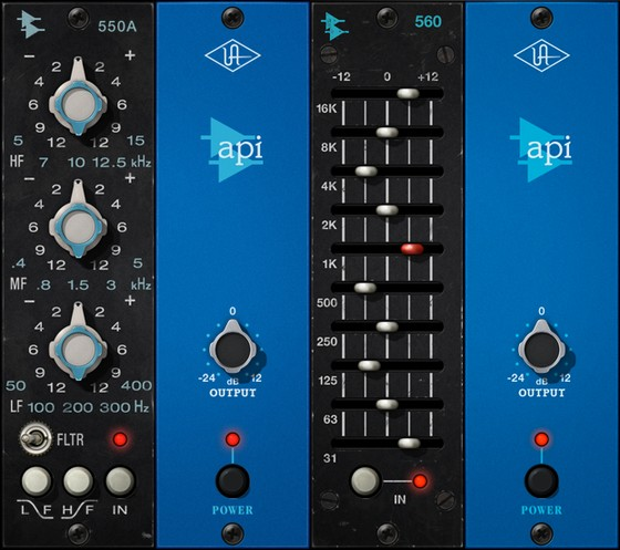 Universal Audio API 500 Series plug-ins