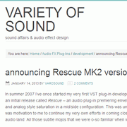 Variety Of Sound