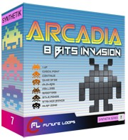 Future Loops Arcadia 8 Bits Invasion