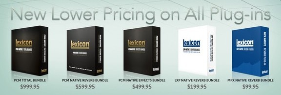 Lexicon plug-ins lineup