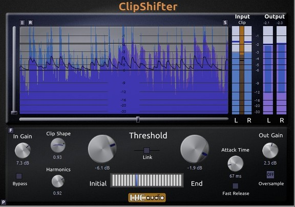 LVC-Audio ClipShifter 2.0
