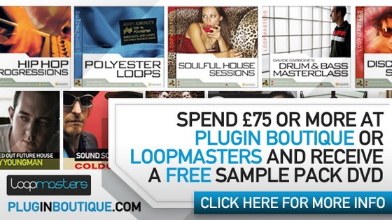 Free Loopmasters samples at Plugin Boutique