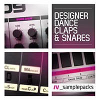 rv_samplepacks Designer Dance Claps & Snares