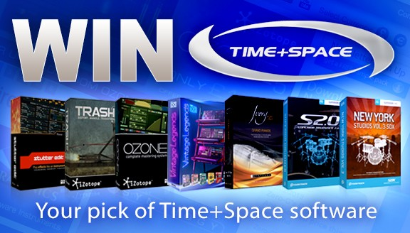 Time+Space Sample Remix Contest prizes