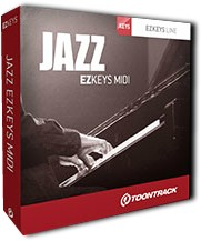 Toontrack Jazz EZkeys MIDI