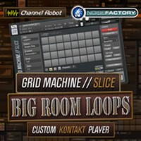 Grid Machine Slice Big Room Loops