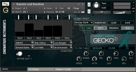 Gecko Kasimir und Karoline