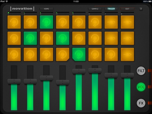 Novation Launchpad for iPad