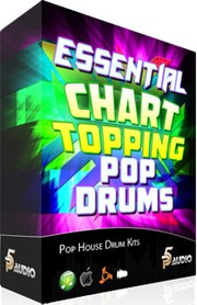 P5Audio Essential Chart Topping Pop Drum Kits