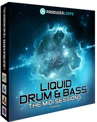 Liquid Drum &amp; Bass The MIDI Sessions Vol 1