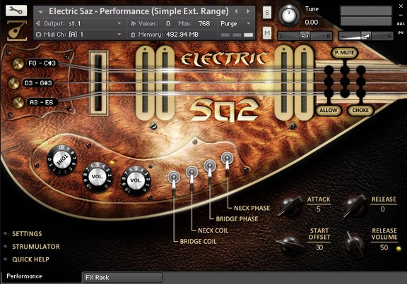 Soundiron Electric Saz