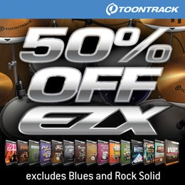 EZX 50% off at Time+Space