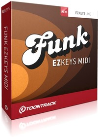 Toontrack Funk EZkeys MIDI Pack