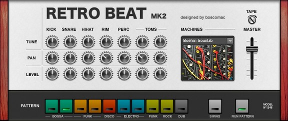 Boscomac Retro Beat Mk2