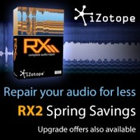 iZotope RX2 Spring Savings
