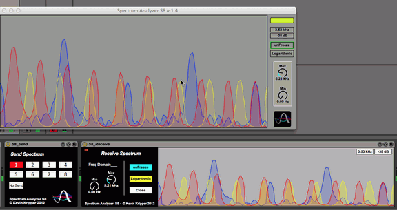 Kevin Kripper Spectrum Analyzer S8