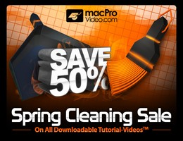 macProVideo.com Sping Cleaning Sale