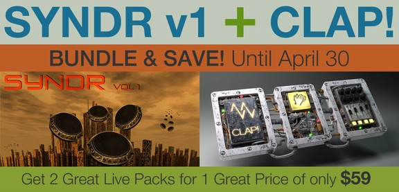 Millertone SYNDR Vol 1 + CLAP! bundle