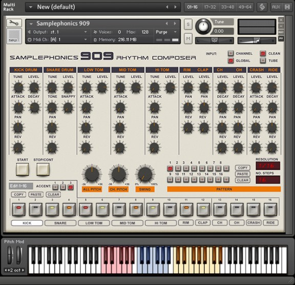 Samplephonics 909