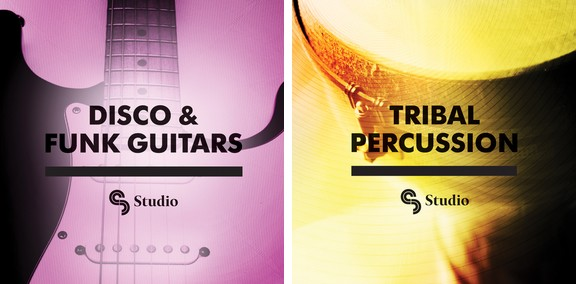 SM Studio Disco & Funk Guitars / Tribal Percussion