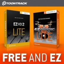 Toontrack EZdrummer Lite & EZmix 2 Lite