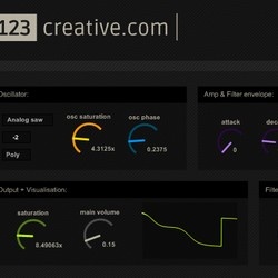 123creative Psytrance Bass X1